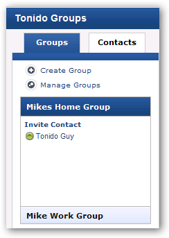 tonido_groups