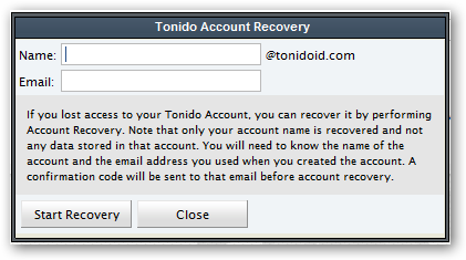 tonido_account_recovery_step2