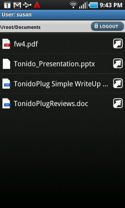 tonido_android_folders_browse