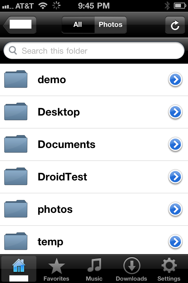 Tonido App for iPhone/iPod and iPad v2 0